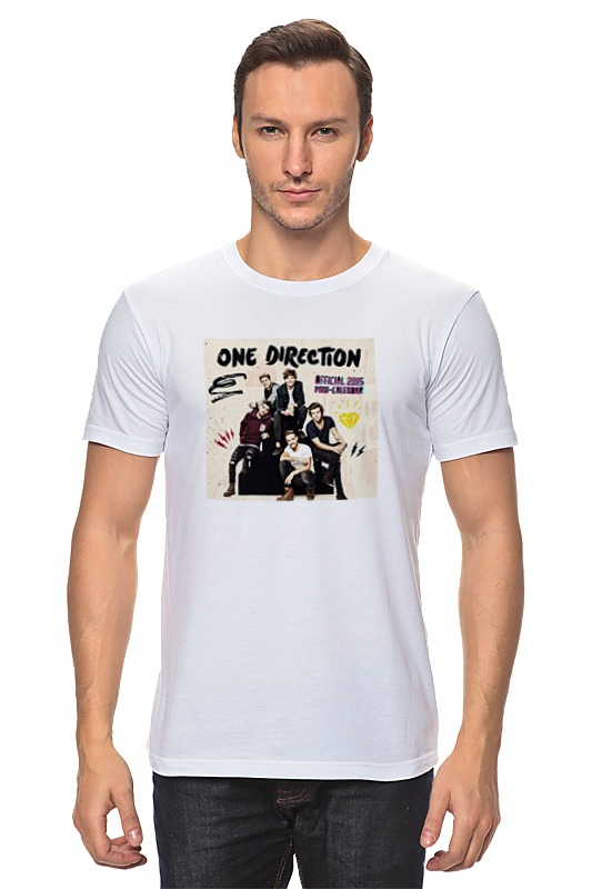 Футболка классическая Printio One direction one direction where we are 100