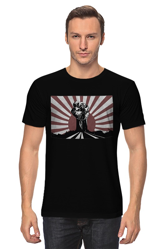 Футболка классическая Printio Борись за свои права футболка wearcraft premium slim fit printio борись за свои права