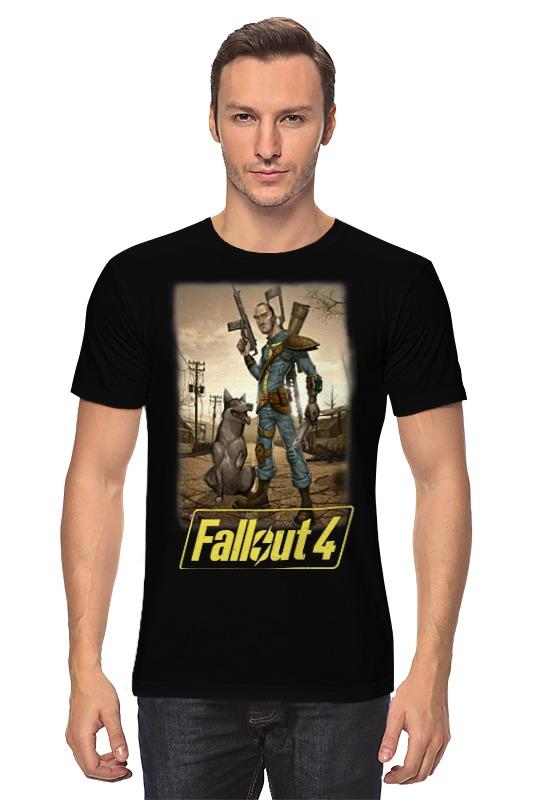 Футболка классическая Printio Fallout 4 novus 4 26