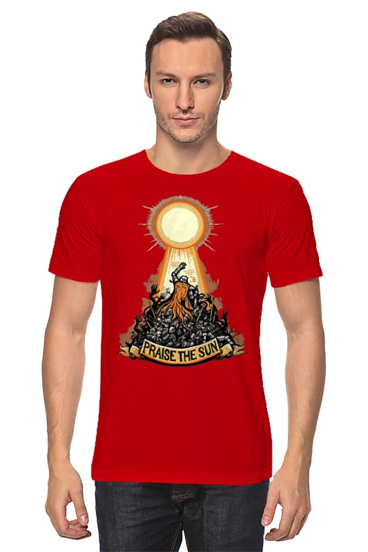 Футболка классическая Printio Praise the sun футболка классическая printio praise the sun