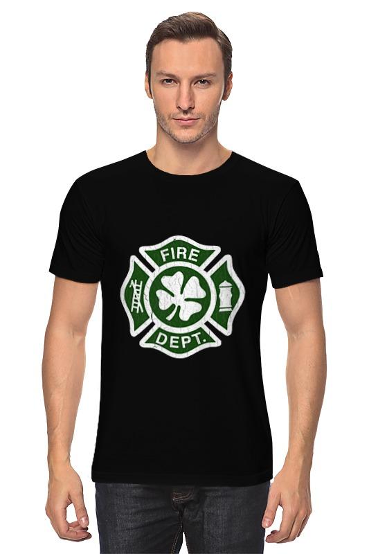 Футболка классическая Printio Ирландский пожарный