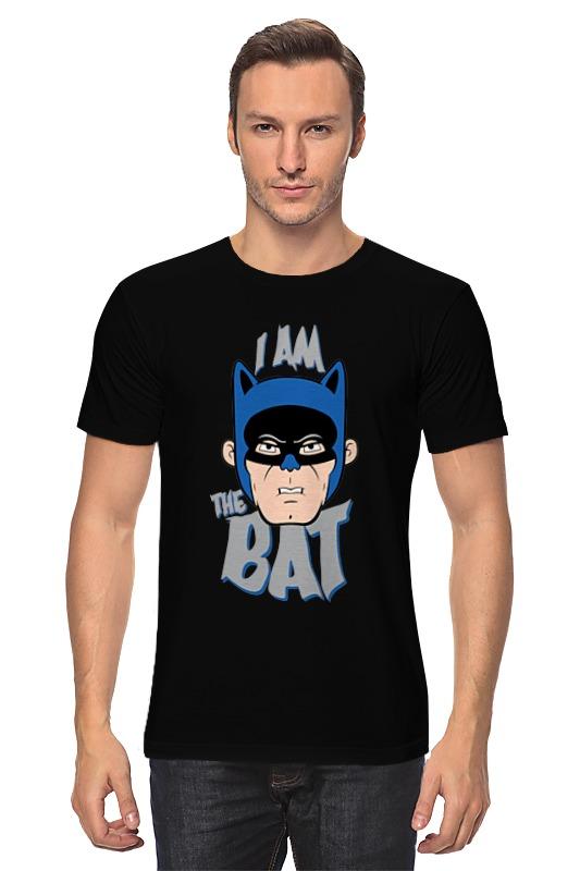 Футболка классическая Printio I am the bat the bat professional