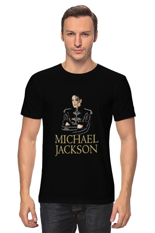 Футболка классическая Printio Michael jackson sarah jackson футболка