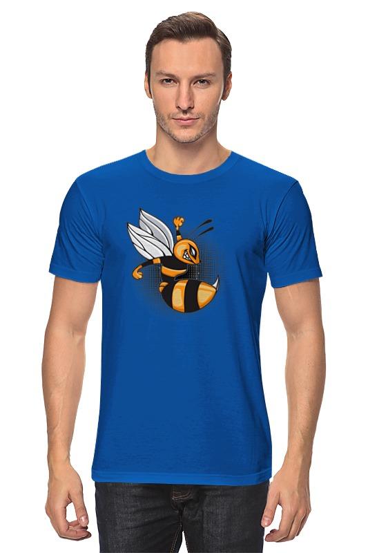 где купить Футболка классическая Printio Злая пчела по лучшей цене