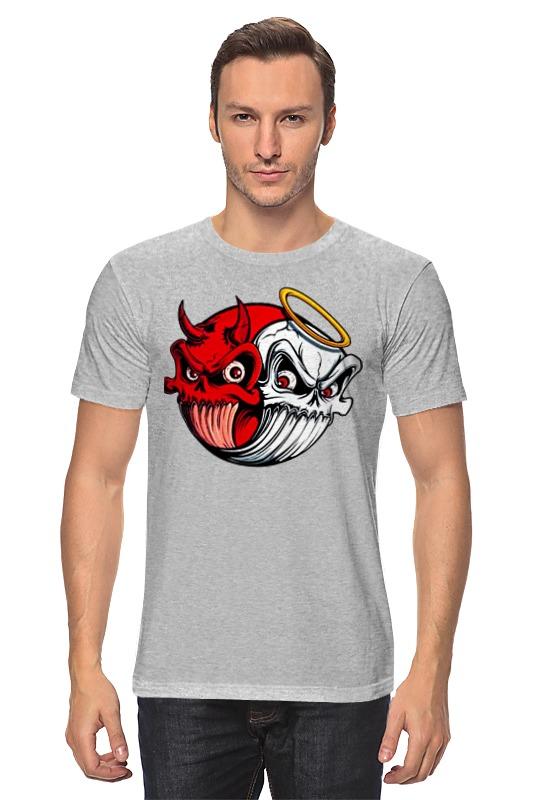 Футболка классическая Printio Angel & devil