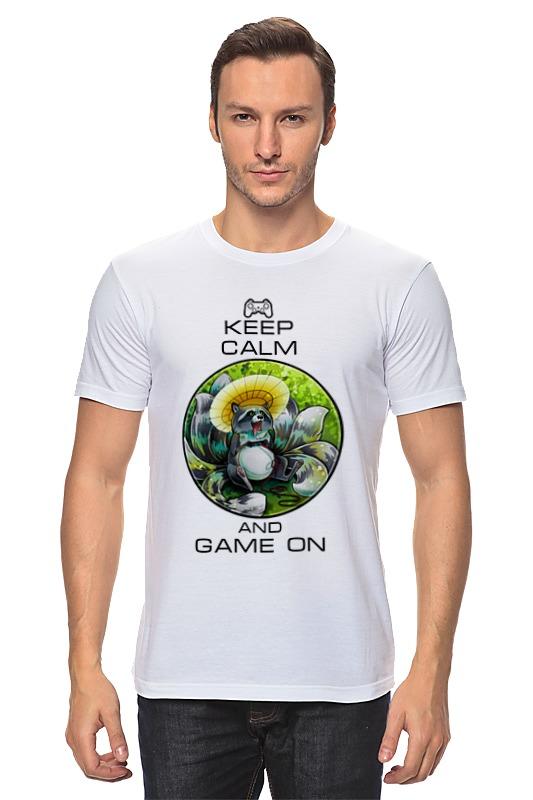 Футболка классическая Printio Raccoon gamer футболка print bar the raccoon
