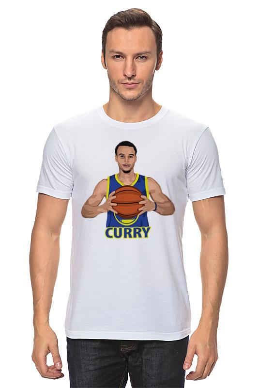 Футболка классическая Printio Стефен карри (голден стэйт уорриорз) футболка с полной запечаткой мужская printio стефен карри stephen curry