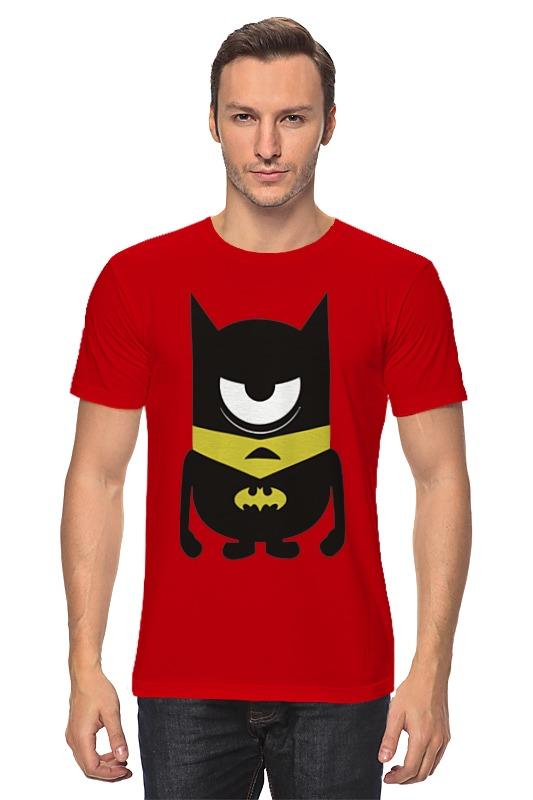 Футболка классическая Printio Minion batman футболка стрэйч printio minion batman