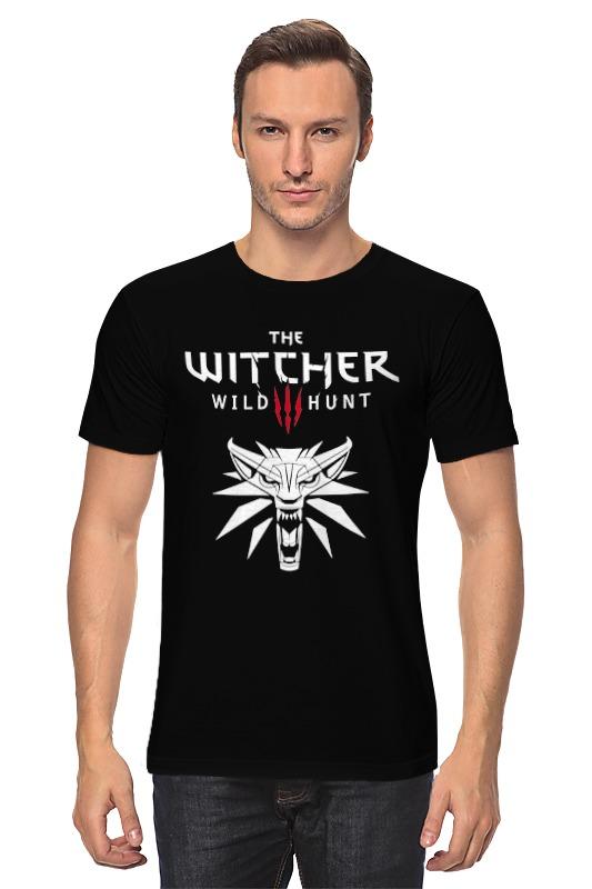 Футболка классическая Printio Ведьмак 3: дикая охота худи print bar the witcher 3 wild hunt