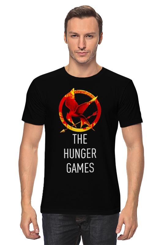 Футболка классическая Printio Голодные игры (the hunger games) the hunger games songs from district 12 and beyond