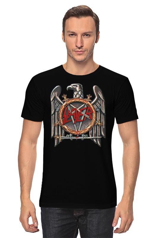 Футболка классическая Printio Slayer футболка slayer