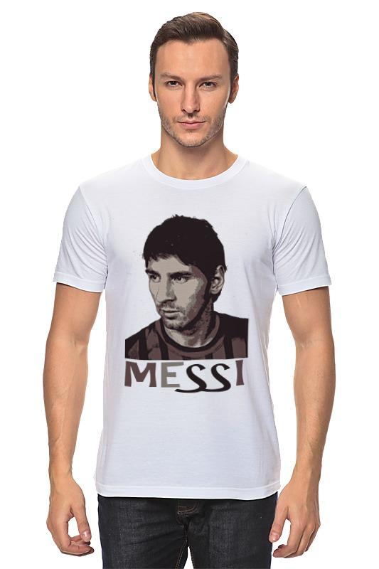 Футболка классическая Printio Messi футболка классическая printio messi