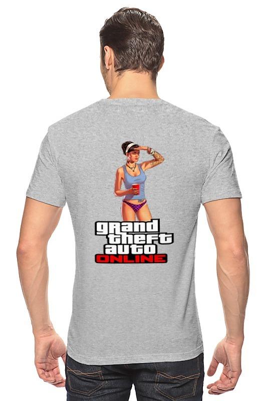 Футболка классическая Printio Gta online футболка классическая printio gta 5 dog