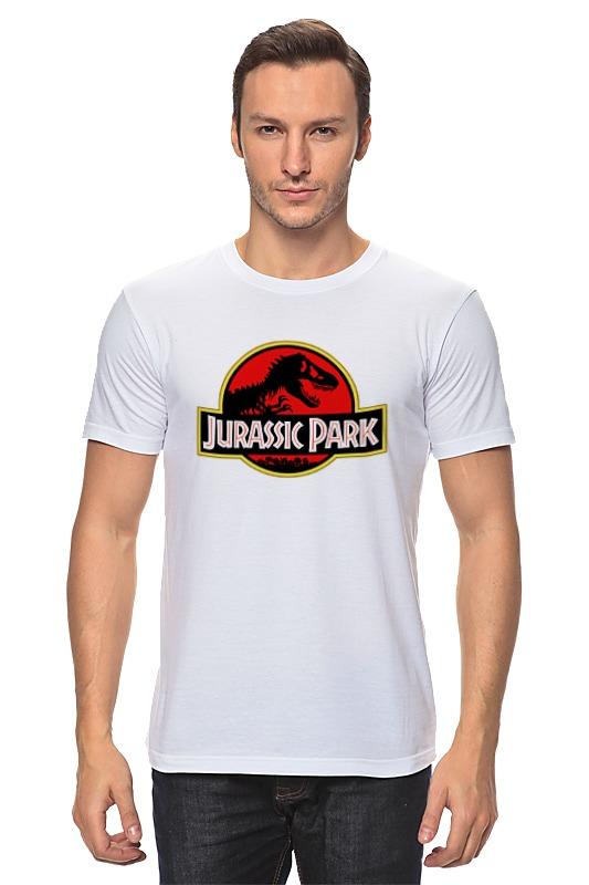 Фото - Футболка классическая Printio Jurassic park / парк юрского периода конструктор автомобильный парк 7 в 1