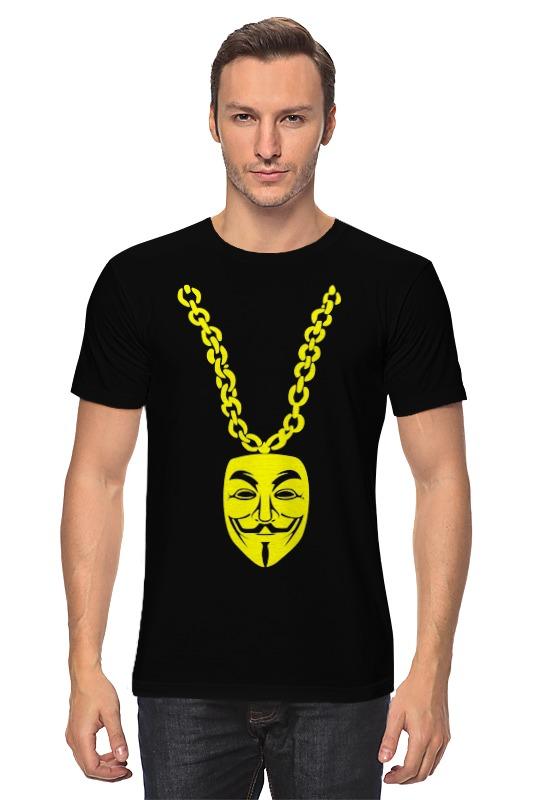 Футболка классическая Printio Маска гая фокса маска