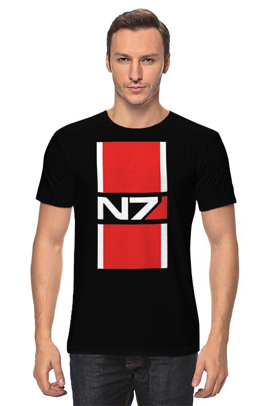 Футболка классическая Printio N7 (mass effect) футболка классическая printio n7 mass effect