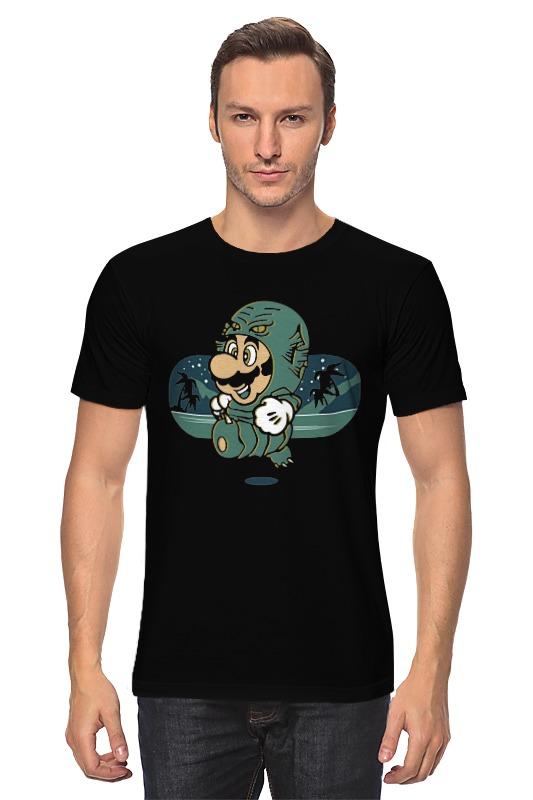 Футболка классическая Printio Марио из черной лагуны какой лучше аккумулятор для лагуны 1ответ профи