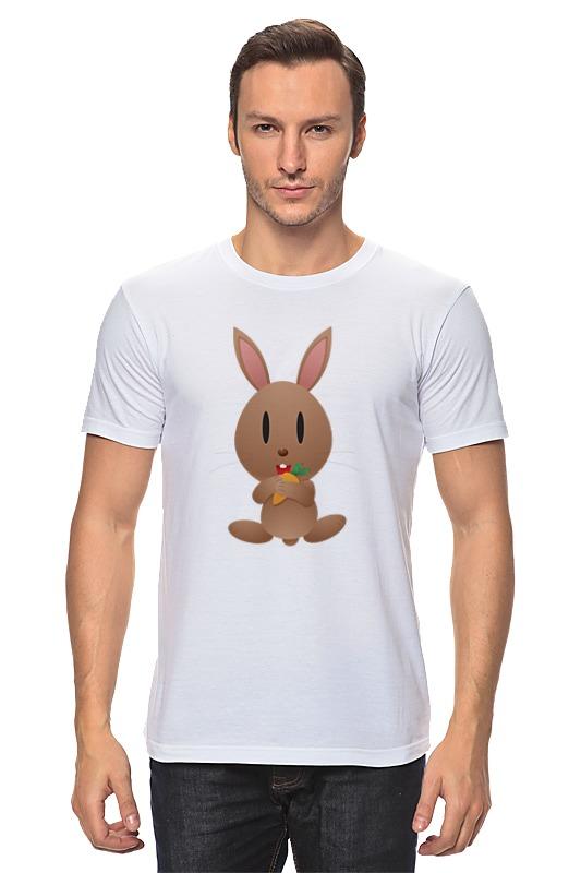 Футболка классическая Printio Кролик футболка классическая printio радужный кролик