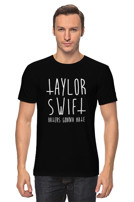Футболка классическая Printio Тейлор свифт (taylor swift) футболка wearcraft premium slim fit printio тейлор свифт taylor swift