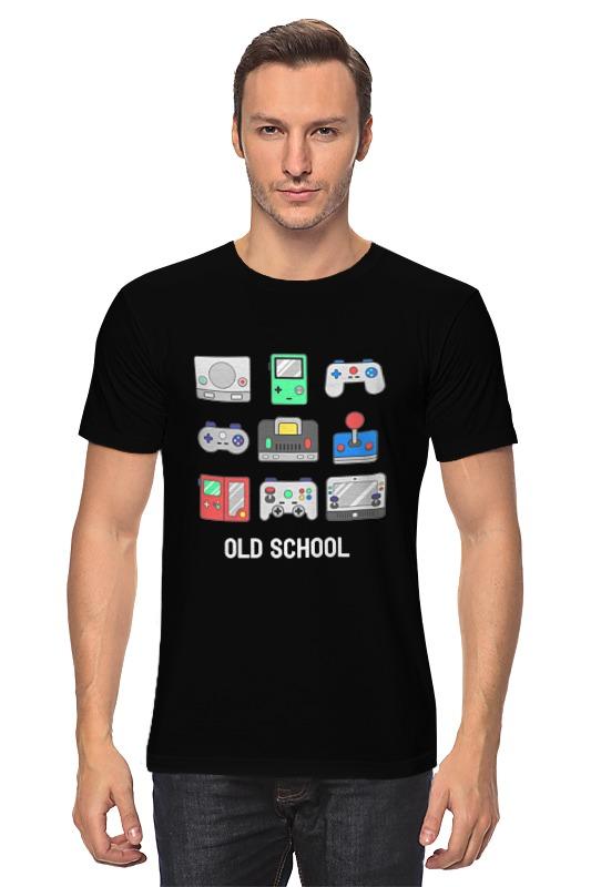 Футболка классическая Printio Старая школа игры для игровых приставок