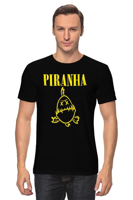 Футболка классическая Printio Piranha meeeno mn eb ledpy piranha led yellow light indicator module for arduino