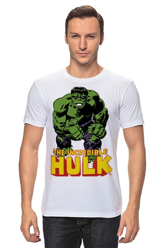 Футболка классическая Printio Халк (hulk) лонгслив printio халк hulk