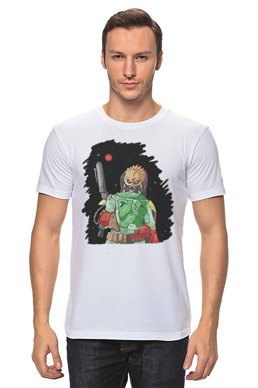 Футболка классическая Printio Хищник х боба фетт футболка классическая printio хищник х боба фетт