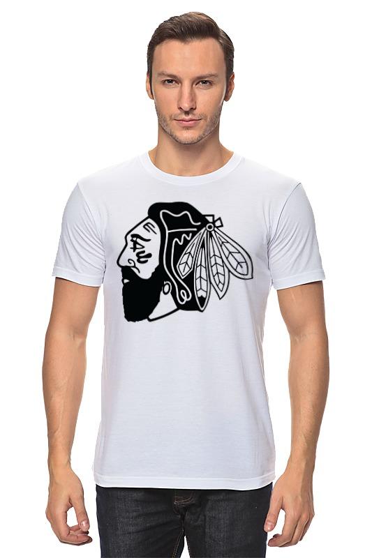 Футболка классическая Printio Индеец (чикаго блэкхокс) футболка print bar chicago blackhawks