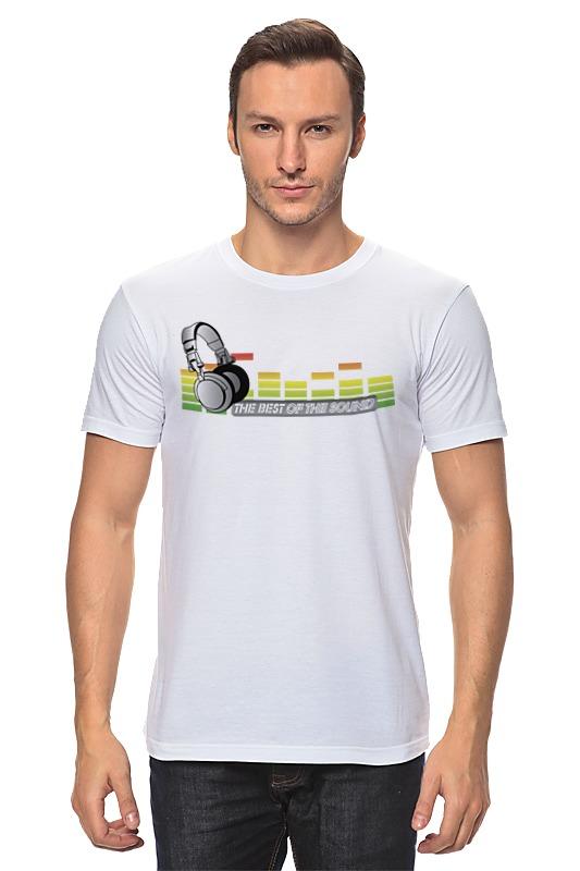 Футболка классическая Printio Лучший звук футболка эквалайзер