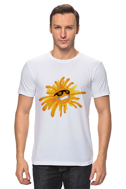 Футболка классическая Printio Солнце солнце coppertone spf70