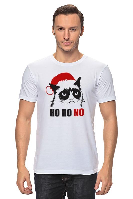 Футболка классическая Printio Сердитый котик (новый год) футболка классическая printio новый год 2018