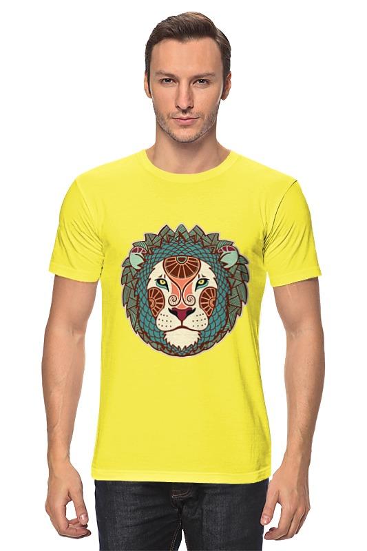 Футболка классическая Printio Гламурный лев майка классическая printio гламурный лев