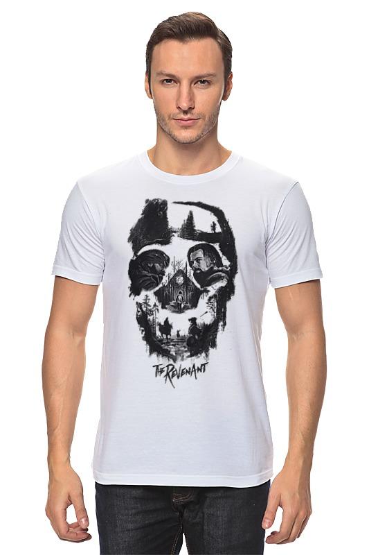 Футболка классическая Printio The revenant (skull) skull off the shoulder tunic sweater