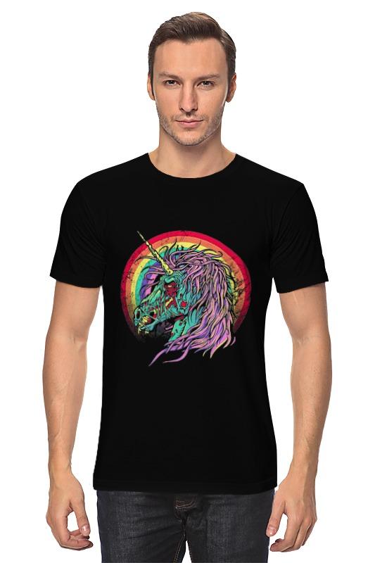 Футболка классическая Printio Зомби единорог футболка единорог