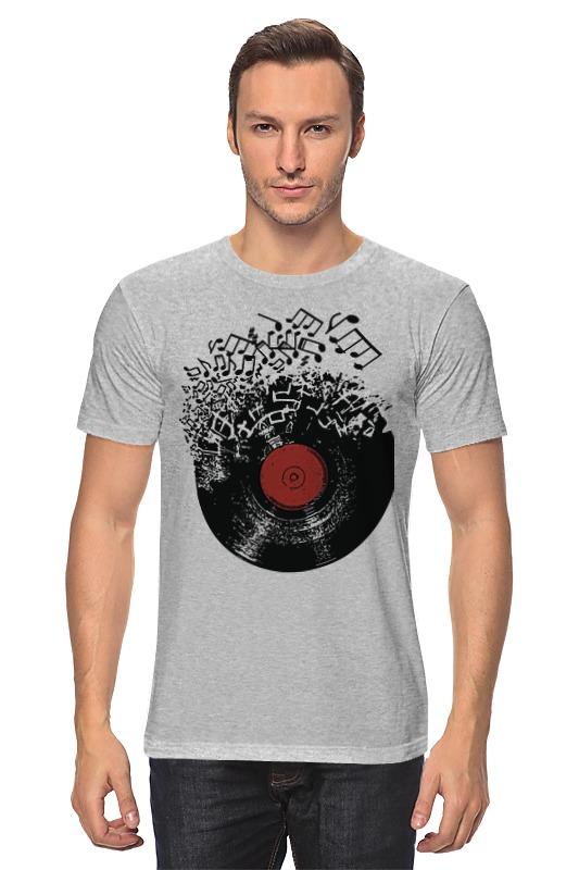 Футболка классическая Printio Виниловая пластинка футболка для беременных printio виниловая пластинка