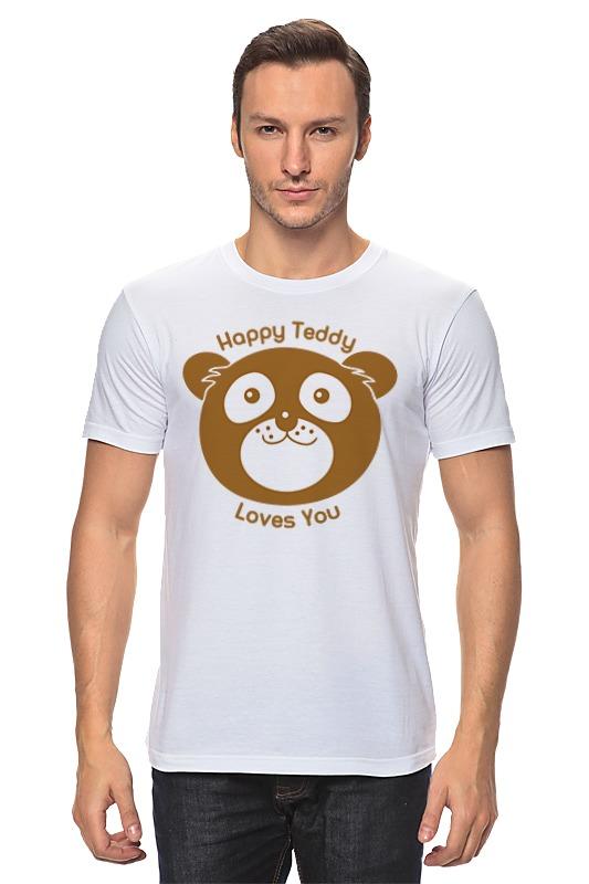 Футболка классическая Printio Медведь футболка классическая printio медведь