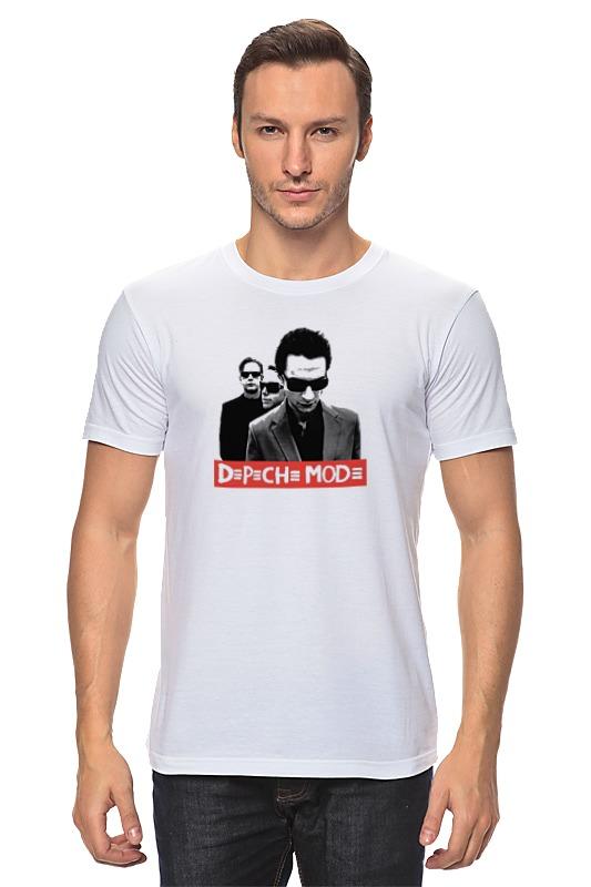 Футболка классическая Printio Depeche mode - the band детская футболка классическая унисекс printio depeche mode the band