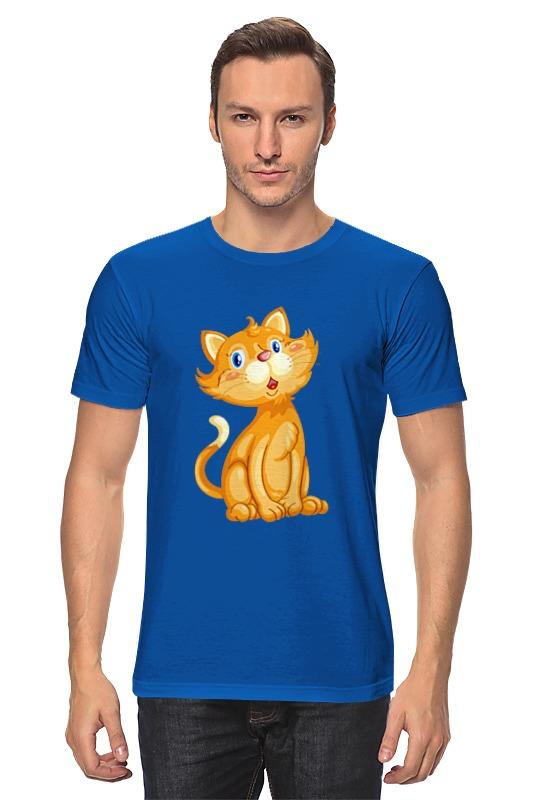 Футболка классическая Printio Рыжий кот футболка классическая printio рыжий кот