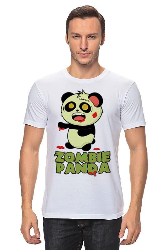 Футболка классическая Printio Зомби панда