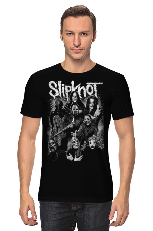 Футболка классическая Printio Slipknot футболка wearcraft premium printio slipknot