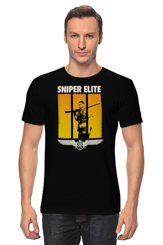 Футболка классическая Printio Sniper sniper 50