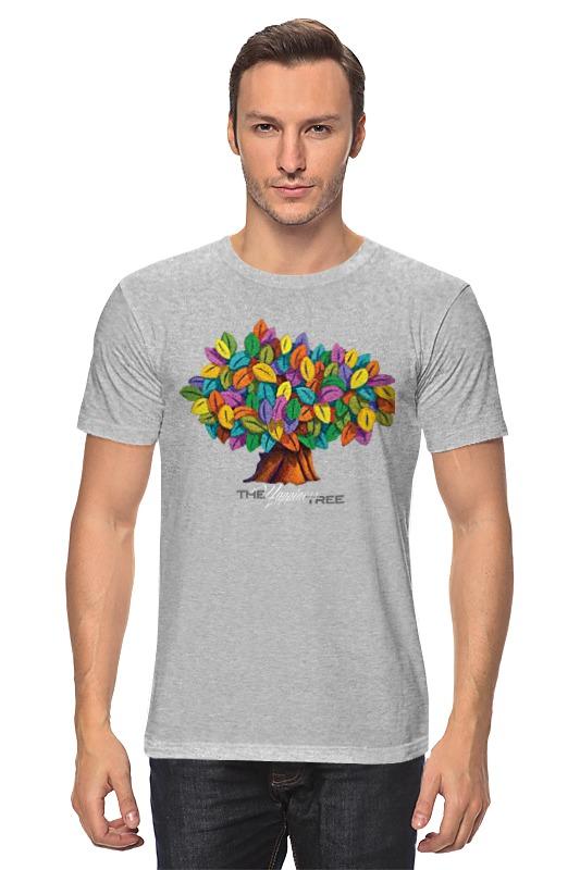 Футболка классическая Printio Дерево счастья дерево счастья 15100053р