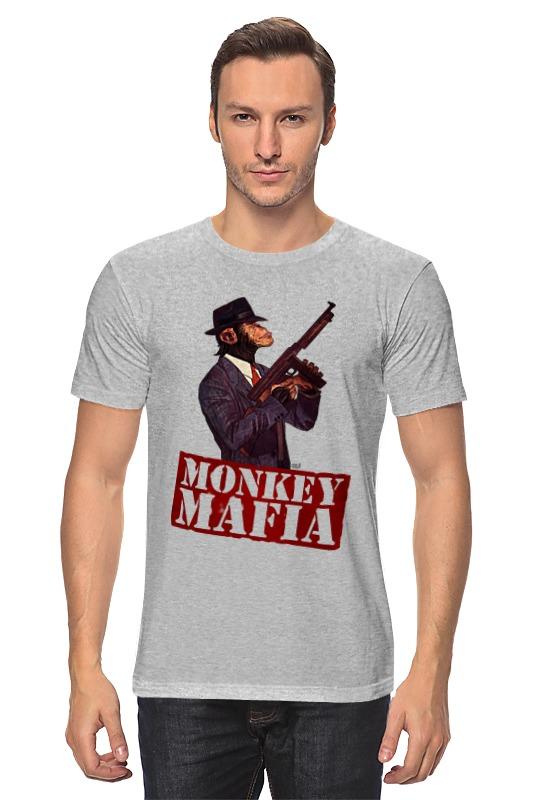 где купить Футболка классическая Printio Monkey mafia по лучшей цене