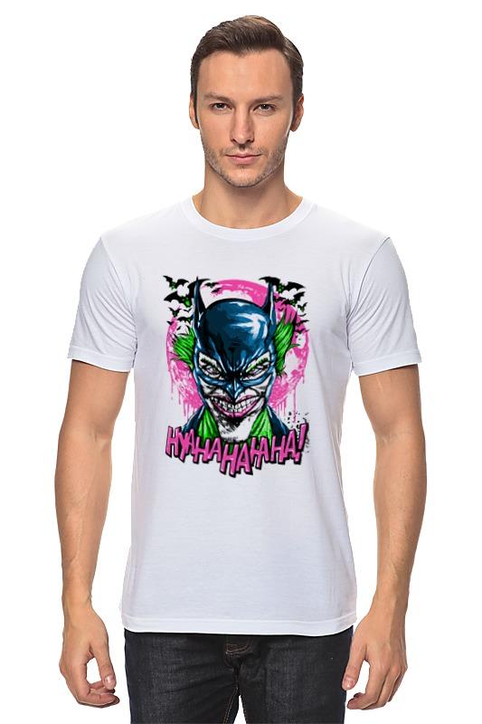 Футболка классическая Printio Джокер (бэтмен) футболка print bar бэтмен и джокер