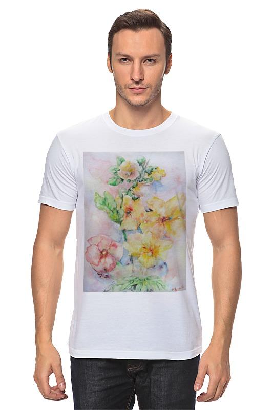 Футболка классическая Printio Мальва. букет футболка классическая printio муравьед с цветами