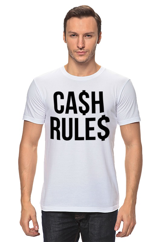 Футболка классическая Printio Наличные (cash) palmer cash футболка