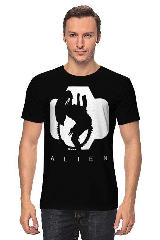 Футболка классическая Printio Чужой (alien)