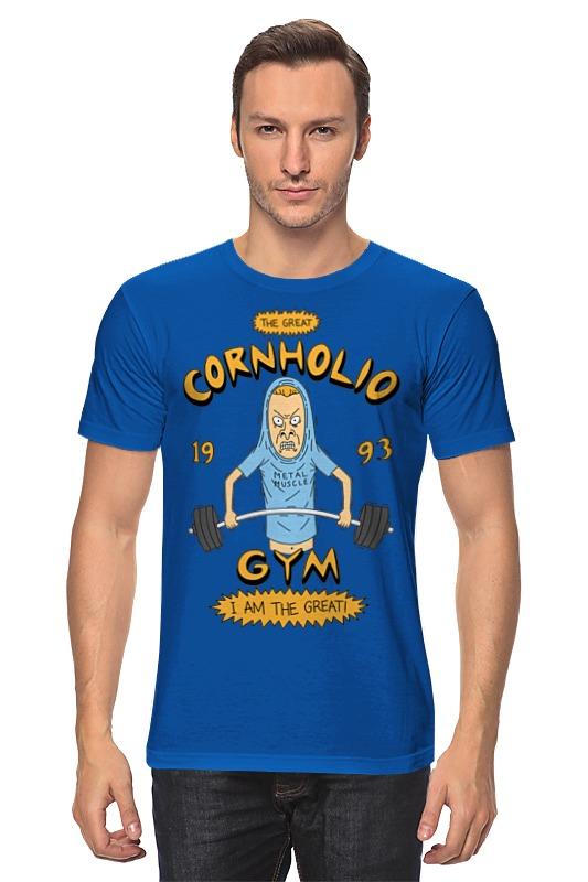 Футболка классическая Printio Спортзал кукурузо футболка стрэйч printio спортзал попайя