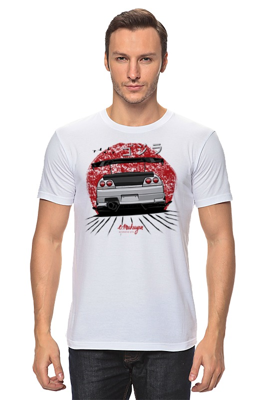 Футболка классическая Printio Nissan skyline r33 gt-r б у nissan skyline в краснодаре