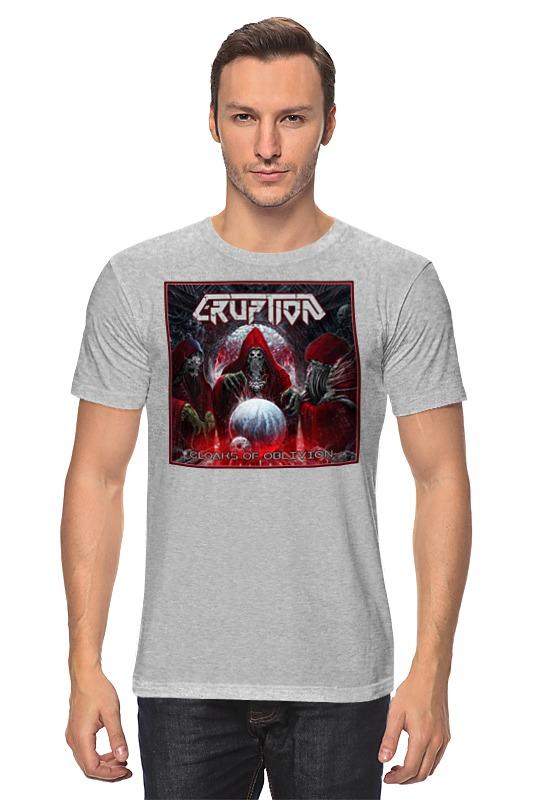 Футболка классическая Printio Eruption - thrash metal band майка классическая printio eruption thrash metal band